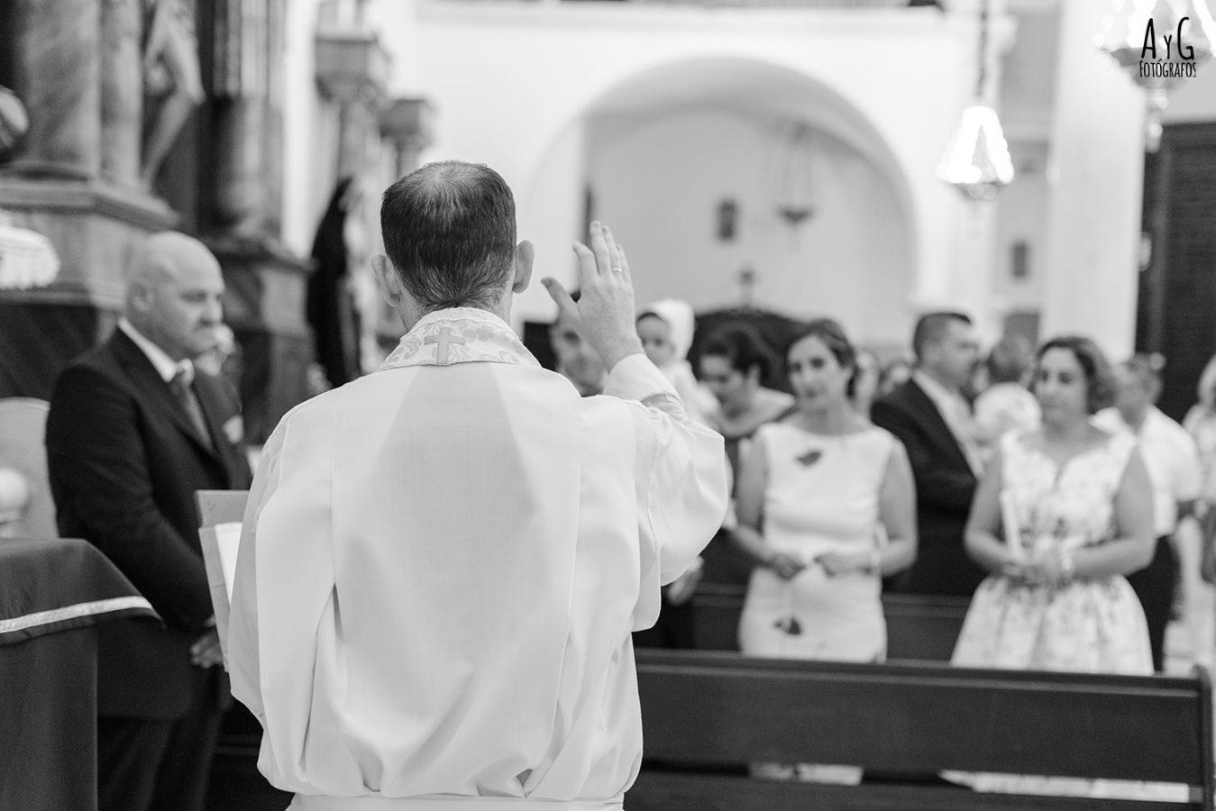 Fotografía de bautizo en La Carlota, Córdoba